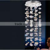 Dofine Antique Style Chandelier Drop Glass Bubble Chain hot sale crystal Chandelier