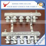 Made in china Floor heating systeam high quality products brass manifold