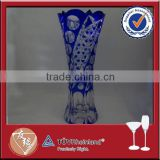 Big artificial glass vase factory for crafts