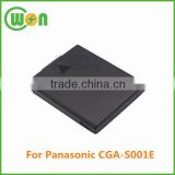 3.7V li-ion replacement camera battery for Panasonic CGA-S001E CGA-S001 CGA-S001A/1B CGA-S001E/1B CGR-S001 DMW-BCA7 3.7V 650mAh