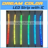 Programmable Dream Color LED Pixel Strip 5050 RGB with Digital Built-in IC Bluetooth Smartphone APP Control