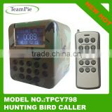 Bird hunting device with LCD display ,hunting duck decoy
