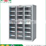 Taiwan High Quality Non-Slip Plastic PS ABS 20 Drawer Steel Spare Part Classification Cabinet