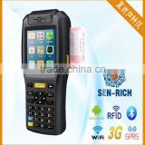 WinCE 6.0 Data Collector PDA with Printer/3G/GPS/Wifi/Bluetooth/Rfid