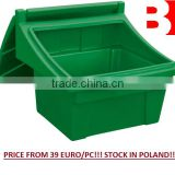 Sand and salt bins. Container for sand and salt. Winter actions! Stock in Poland! LOW PRICE FROM 39 EURO!!!