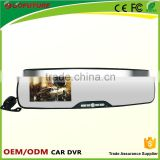 4.3 inch voice recorder mirror manual car mini spy gadgets camera hd dvr