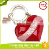Popular design bulk sale new China supplies hot selling plastic key ring