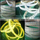 Double rows AC85-240V SMD 5050 IP67 warm white 60leds/m flexible led 5050 led strip lighting 12 volt