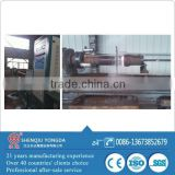 Induction heating hydraulic cylinder cladding machine