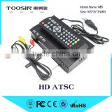 New HD PVR Digital ATSC TV Tuner 1080P TV Box M5 Receiver support USB for Mexico/USA/Canada