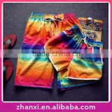 Wholesale print girls boys womens mens casual fashion couple beach shorts