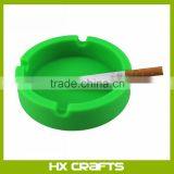Best selling smoking set silicone ashtray/custom logo round silicone smoke absorbing ashtray/pocket ashtray