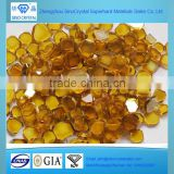 7.0*7.0*1.0 mm HPHT Synthetic Yellow Mono Diamonds Plate for CVD Seeds