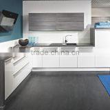 Modern Luxury Ready Made Flat Pack Cabinet Unit Designs, PVC Pantry Cupboard Picture,High Gloss Lacquer Kitchen Furniture