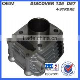 motorcycle cylinder block with piston for bajaj discover