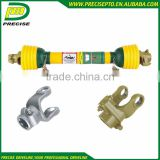 Transmission Shaft With Splined Yokes Shear Bolt Torque Limiter Friction Torque Limiter Used In Tractor