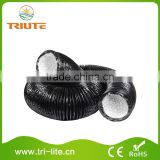 Indoor Air Conditioning PVC Air Duct Black Lightproof Air Ducting