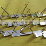 Galvanized Steel Razor Spike on top of Roof, wall, gate & fence anti-climb for security