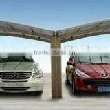 2015 Sigma best selling modern high snow load aluminium carports with polycarbonate sheet roof