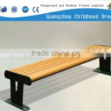 (HD-19905) cast iron bench leg hard wood weather resistant park bench