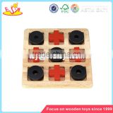 Wholesale intelligent kids wooden chess game new fashion children wooden chess game W11A018