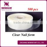 Newair Professional 500 pcs gel Nail Form paper