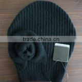 French style cashmere knitted hat beanie crochet hat