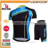 BEROY Rocky Mountain Bike Cycling Kit with Padded Shorts, Wholesale Cheap Cycling Jersey