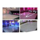 Indoor Wedding Party LED Starlit Dance Floor Lights With Twinkling Star Effects