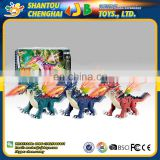 Best quality cheap plastic walking dinosaur toy with swing functions