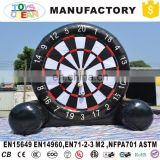 Outdoor inflatable soccer dart shooting sport game
