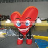 heart advertising inflatable moving costume (ace16-11)