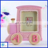 resin pink car photo frame