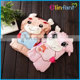 Elinfant cute animal bamboo cartoon baby infant hooded bath towel