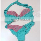 lace bikini new with tags Seafoam & Pink swimwear