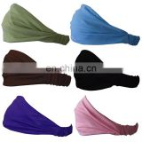 Popular Fabric Moisture Wicking Yoga Sport Headband