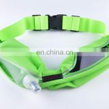Wholesale Sports Running Waist Pack Hydration Belts With Foldable Water Bottle