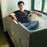 MASSAGE BATHTUB FOR SMALL BATHROOMS SWG-8007