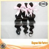 Ms lula hair peruvian loose wave bundles 7a unprocessed peruvian virgin human hair extension