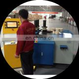 Advanced three rollers CNC arch aluminum profile bending machine for window and door