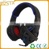 Cool colors funny stereo fancy unique patent stylish glowing gaming headphone