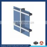 High Quality Frameless Double Glass Curtain Wall