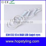 CE approval RGB LED Angel eyes for E30 E32 E34 with remote controller Auto Lamp China manufacture