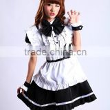 High Quality Black Lolita Skirt Sexy Dress Lolita Maid Costume Anime Cosplay Costume Halloween Costume Sexy Fancy Dress