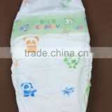 newest disposable baby diaper cloth like film hook and loop tape