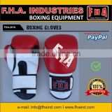 Fight Leather Boxing Gloves Professional Boxing Equipment by FHA INDUSTRIES SIALKOT PAKISTAN