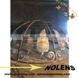 Hotel Garden Wrought Iron Top Of Gazebo Ornament Wrought Iron