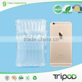 Mobile phone transport packaging, inflatable airbag