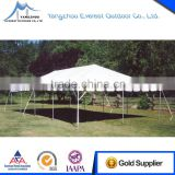Fire retardant waterproof aluminum frame folding tent