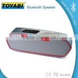 Home 10hs Stainless Steel 3.5mm Bass Base Bluetooth Wireless Portable Speaker Outdoor Car Shower for Mobile Pad PC Waterproof